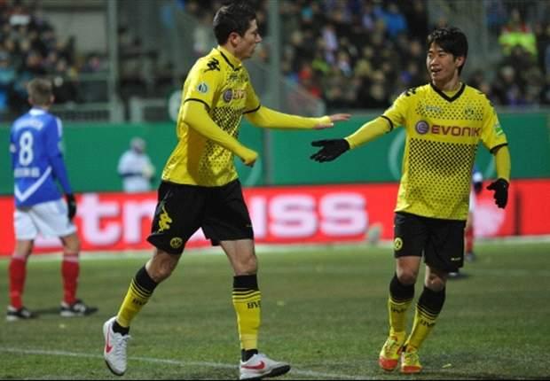 Keine Pokal-Sensation: Dortmund siegt in Kiel