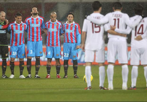 Catania 1-1 Roma: Completion of rearranged Serie A fixture ends in stalemate