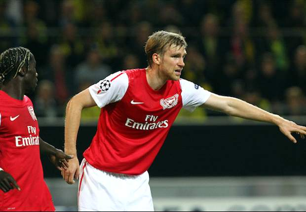 Missing Mertesacker now the most vital part of Arsenal's defence