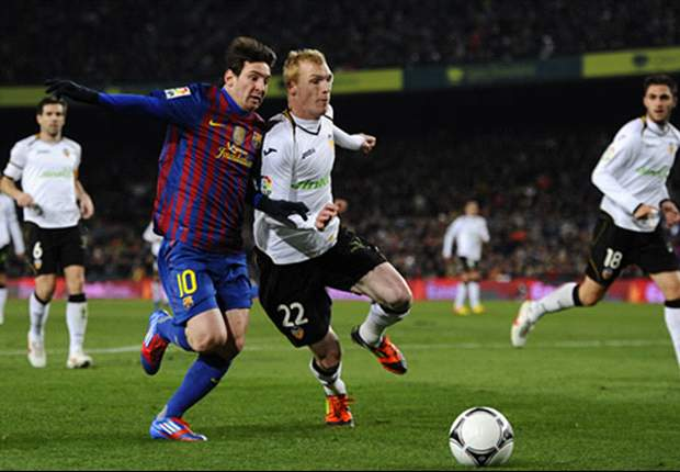Barcelona 2-0 Valencia (3-1 Agg): Fabregas and Xavi fire Blaugrana into Copa del Rey final meeting with Athletic Bilbao