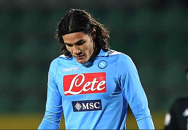 Cavani: Napoli lacked desire to win against Catania