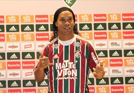Ronaldinho set for Fluminense debut