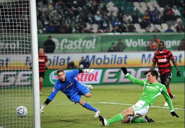 Stark gespielt und mit viel Pech und einer Fehlentscheidung noch gegen den VfL Wolfsburg verloren – das Pech eines Absteigers?