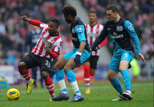 Sunderland 1-2 Arsenal: Thierry Henry grabs dramatic late winner as Gunners fight back to go joint fourth