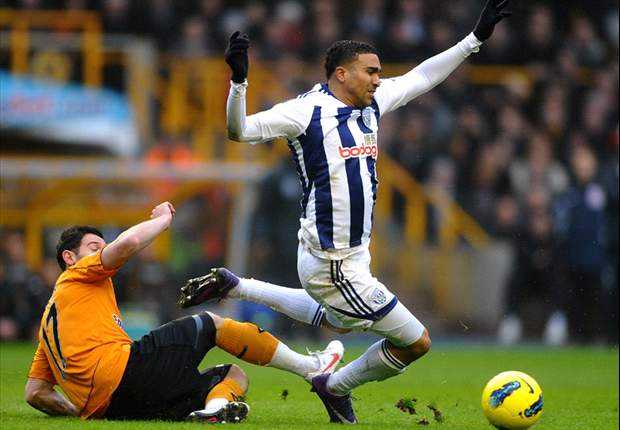 Wolves 1-5 West Brom: Peter Odemwingie hat-trick inspires Baggies to emphatic Black Country derby win as hosts drop into relegation zone
