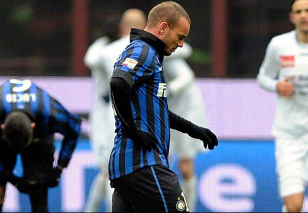 Sneijder: I am happy at Inter and feel part of the group