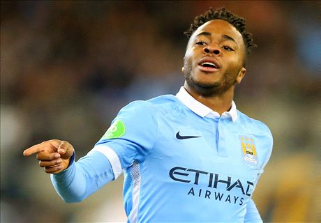 Sterling shines as Man City hit eight