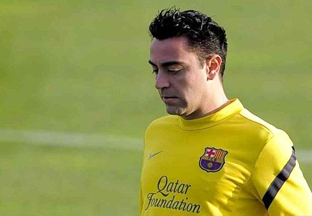 Xavi Hernández, trabajando en su recuperación