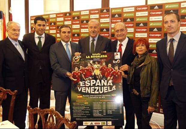 Venezuela: Lista de convocados para amistoso contra España