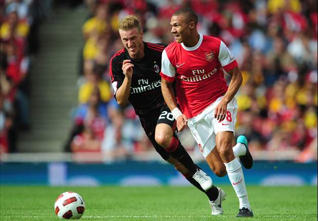 Arsenal's Gibbs: We have to believe we can beat AC Milan otherwise there's no point in being here