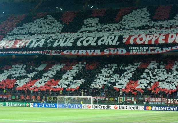 Costa caro al Milan il disgustoso striscione contro Pessotto: multa di 4 mila euro alla società rossonera. Sanzionata anche la Juventus per insulti razzistici