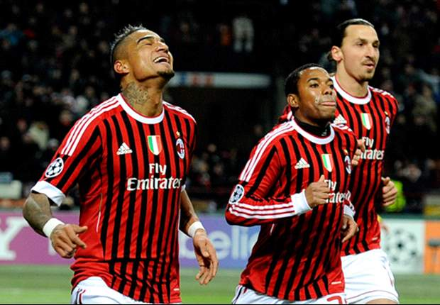 Nesta, Boateng, Robinho & the injured players AC Milan need to get back to fitness to have a hope of beating Barcelona