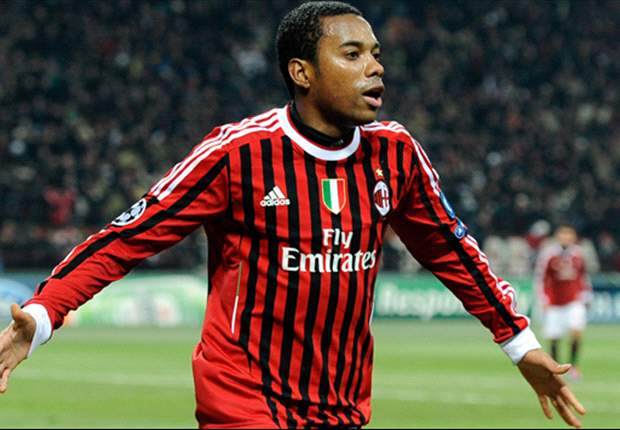 AC Milan attacker Robinho doubtful for Parma clash