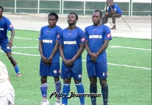 Nigeria Premier League: Dolphins beat Ocean Boys 3-0 to join Pillars and Rangers on top of the table