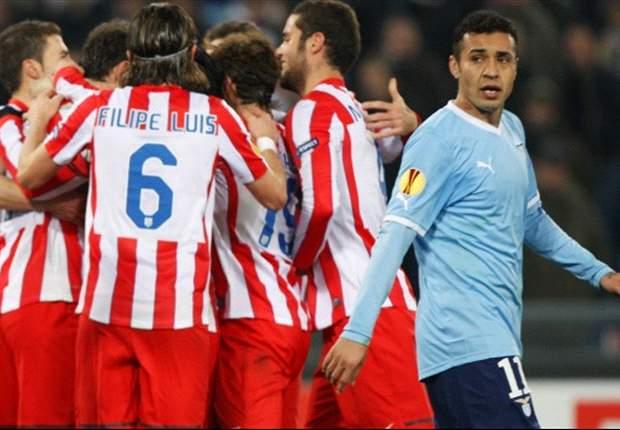 Com Diego bem, Atlético bate a Lazio fora de casa