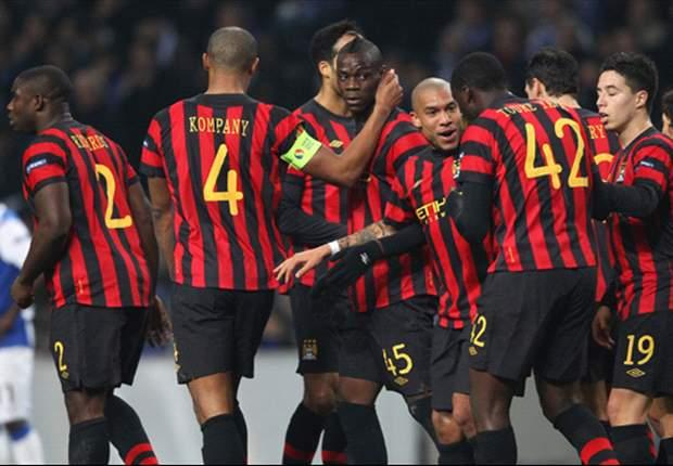 Sergio Aguero Bawa Manchester City Bungkam FC Porto