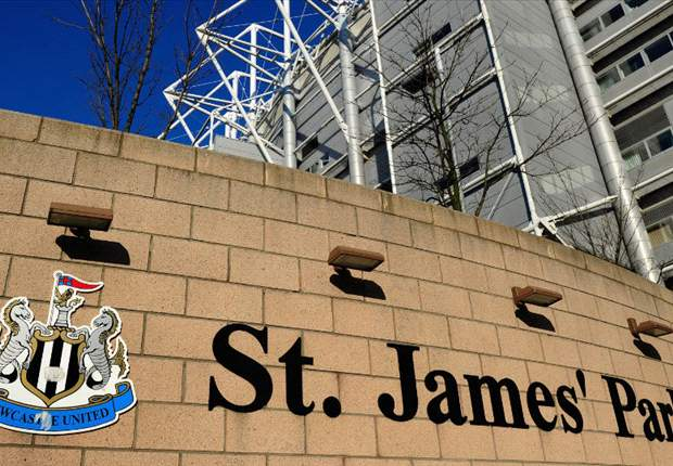 St James' Park sign returned to Newcastle stadium
