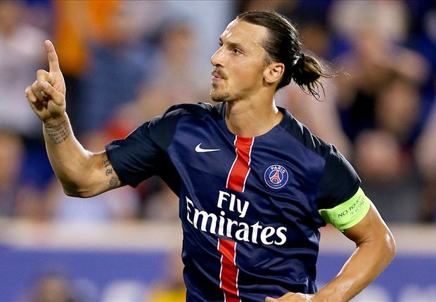 Ibrahimovic's Agent Rules Out Man Utd Move...