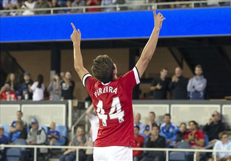 Pereira shines for Man Utd