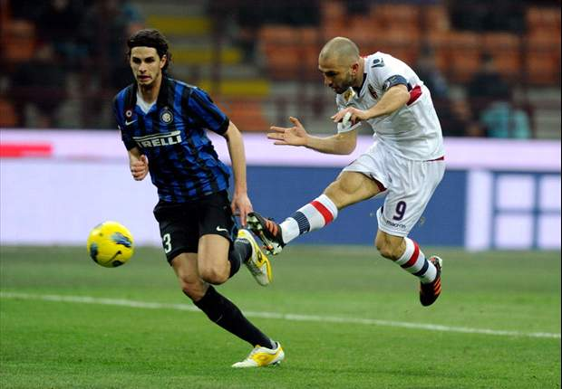 Inter 0-3 Bologna: Di Vaio double and late Acquafresca strike condemn Nerazzurri to third straight Serie A defeat