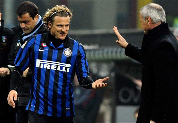Ranieri insists Forlan did not refuse to come off the bench in Inter's draw versus Atalanta