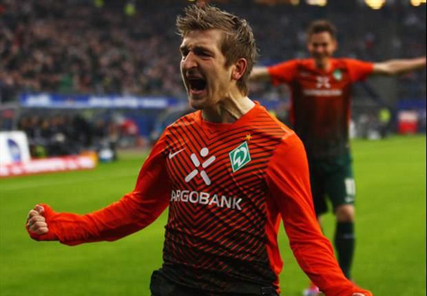 Werder Bremen klopt HSV in Nordderby
