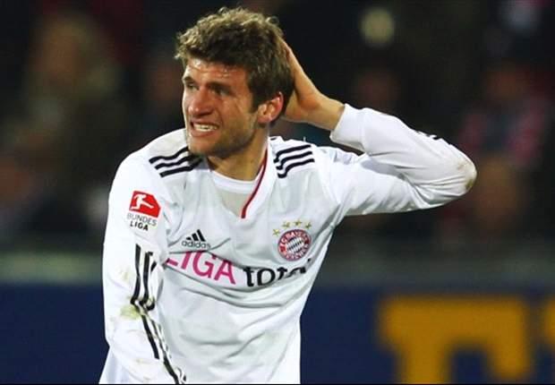 Bayern só empata com lanterna