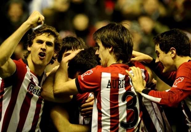 Athletic wint in vijf minuten van Málaga