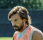 Pirlo's first NYCFC training session