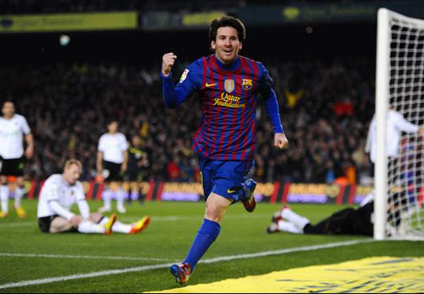 Barcelona 5-1 Valencia: Sensational quartet from Messi demolishes visitors on 200th league appearance for Catalan giants