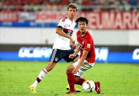Report: Bayern 0-0 Guangzhou (pens 4-5)