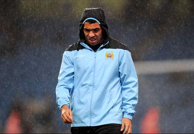 TEAM NEWS: Tevez named as a substitute for Manchester City as Torres handed start for Chelsea