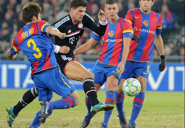 Basel coach Heiko Vogel delighted with second-half performance against Bayern Munich
