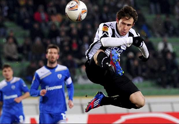 PAOK-Udinese 0-3: Impresa bianconera! In Europa League si continuerà a parlare friulano