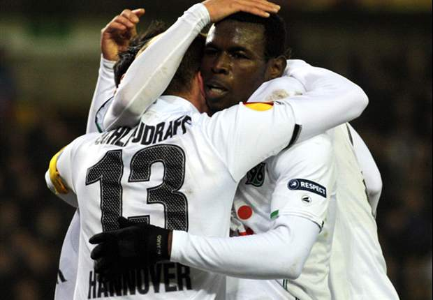 Standard Liege 2-2 Hannover: Mame Diouf goal clinches draw for Germans in end-to-end encounter
