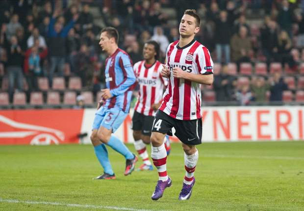 PSV 4-1 Trabzonspor (Agg 6-2): Mertens, Matavz & Strootman on target to ease hosts into last 16