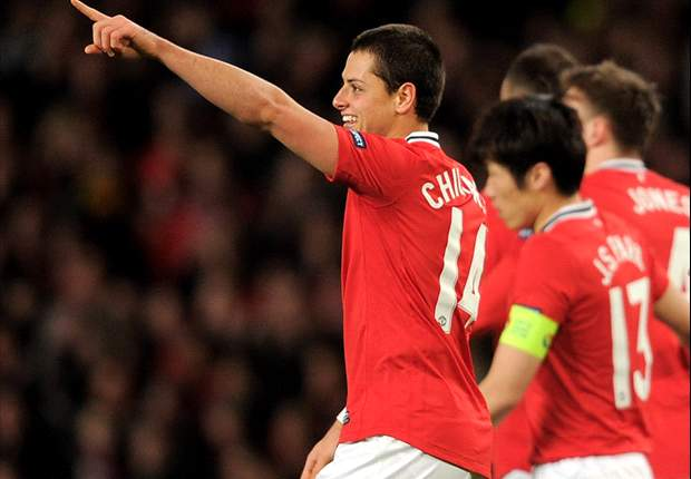 Manchester United 1-2 Ajax (Agg: 3-2): Hosts progress to Round of 16 despite defeat after Chicharito opener
