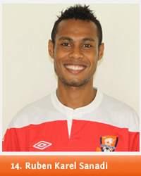 Ruben Karel Sanadi, Indonesia International