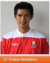 Firdaus Ramadhan, Indonesia International