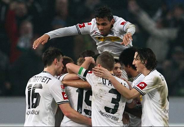 Borussia Monchengladbach 1-1 Hamburg: Tolgay Arslan strike limits Lucien Favre's side to a draw