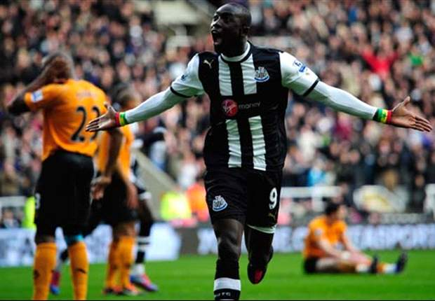 Newcastle 1-0 Norwich City: Early Cisse strike enough as hosts move five points clear of Liverpool in race for sixth