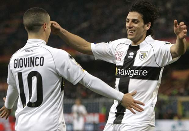 Parma 3-1 Lazio: Floccari double deals former club a huge blow in Champions League push