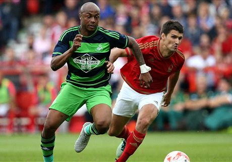 Ayew off the mark for Swansea