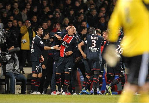 Paris Saint-Germain 1-1 Bordeaux: Hoarau rescues point but Ancelotti's side remain behind Montpellier in Ligue 1 standings