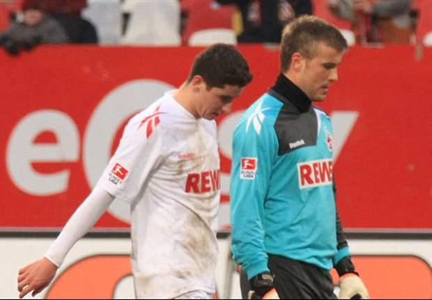 Köln: Defensive wacklig, Offensive unkonzentriert