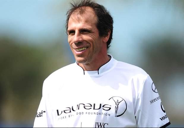 I would like to coach Chelsea, says Zola