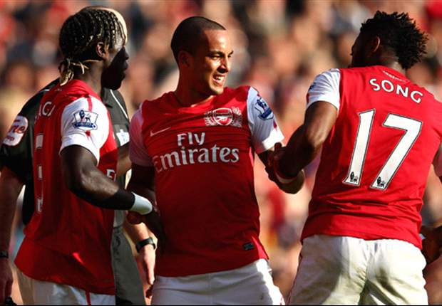 Arsenal 5-2 Tottenham: Theo Walcott double caps sensational derby win as Gunners seal comeback from two goals down