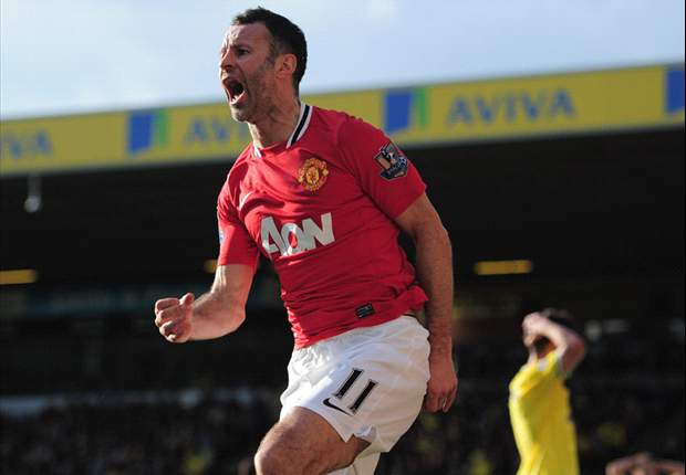 Manchester United's Giggs named best player in Premier League history