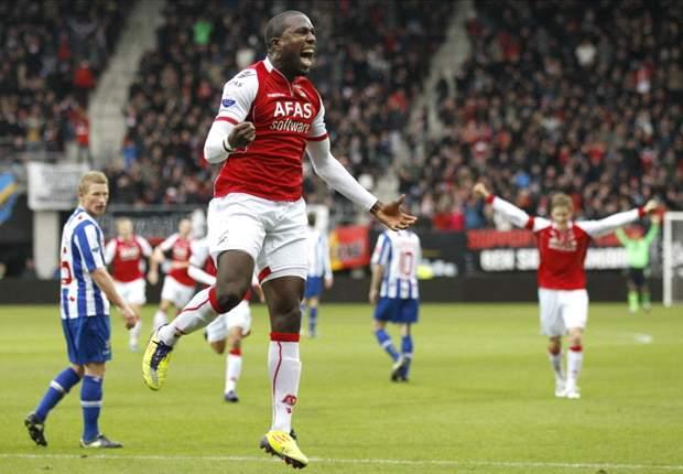 Jozy Altidore scores twice in AZ's 3-3 draw with Heerenveen