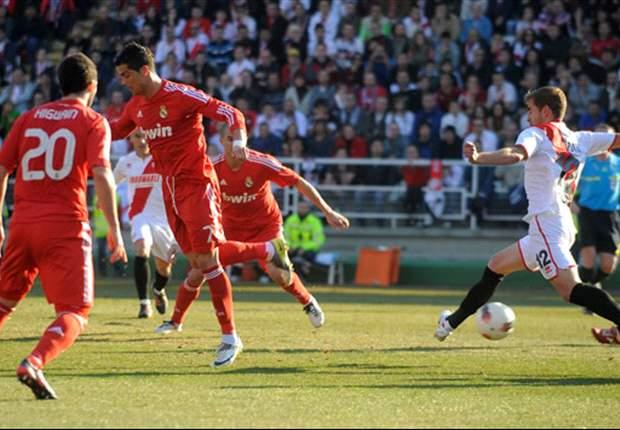 Xabi Alonso hails Cristiano Ronaldo's back-heel goal in Real Madrid's narrow win over Rayo